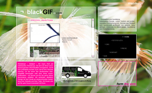 Webdesign blackGIF.com